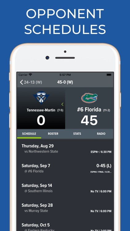 Florida Football Schedules screenshot-7