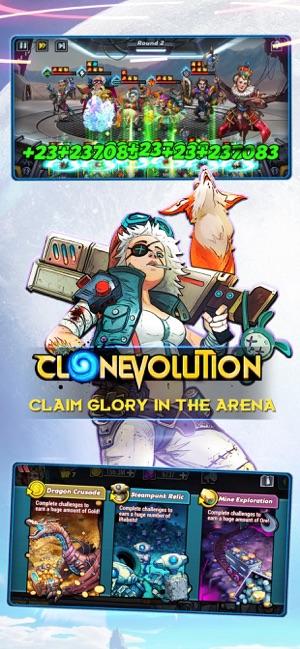 Clone Evolution: RPG Battle on the App Store