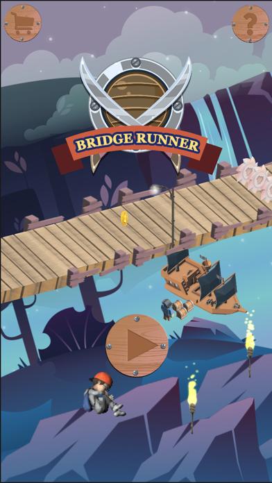 Risky Bridge Cross Runner screenshot one