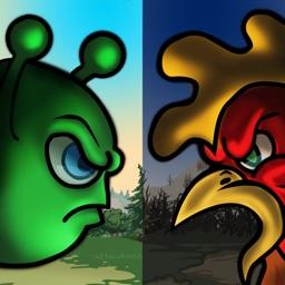 Bubble Wars: Castle battle