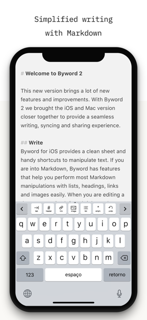 ‎Byword Screenshot