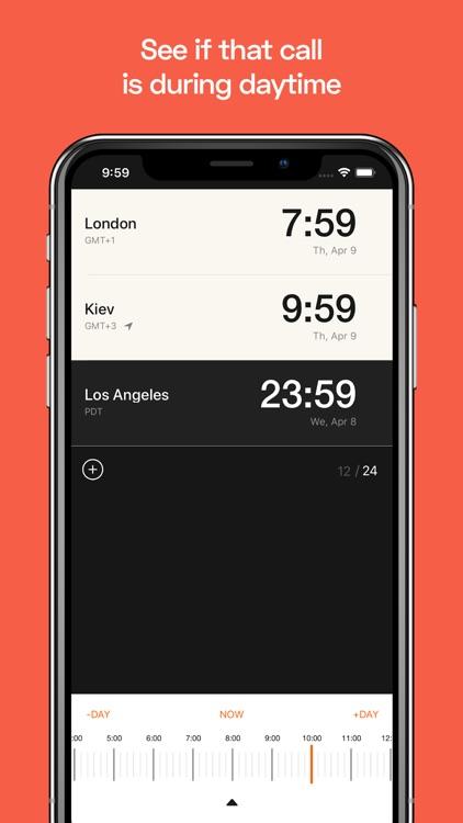 TimeSnap - Time Zone Converter screenshot-4