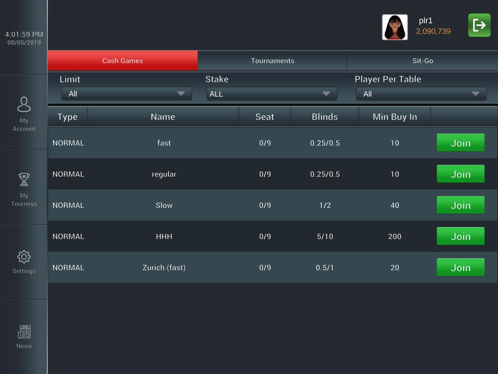 Poker Online Switzerland