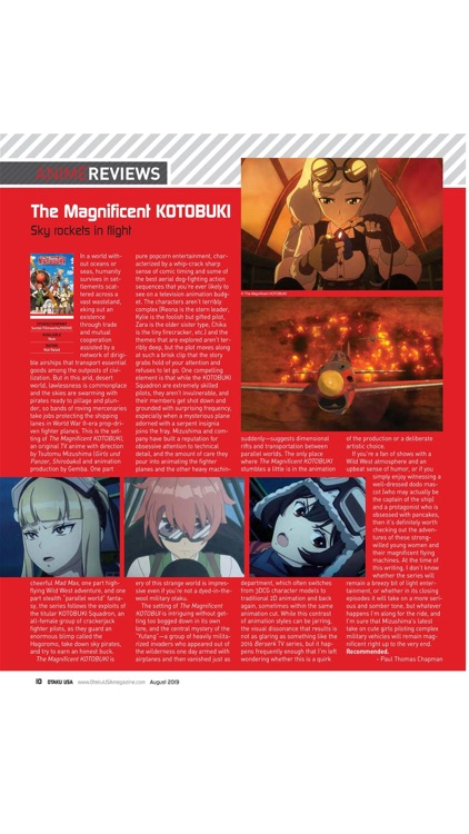 Otaku USA Magazine screenshot-2