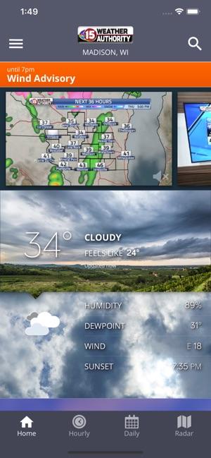 Wmtv Channel 15 Weather