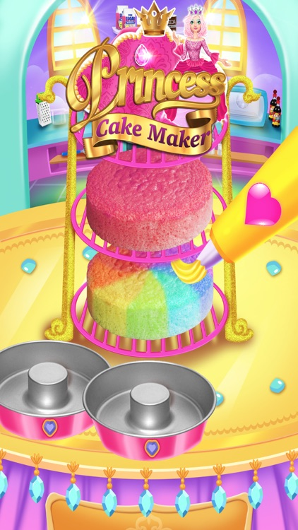 Rainbow Princess Cake Maker