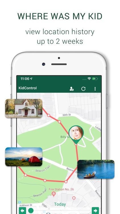 Family GPS Tracker KidControl screenshot-3
