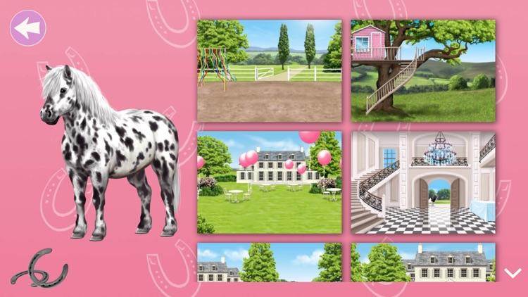 Pony und Reiter Anziehspass screenshot-4
