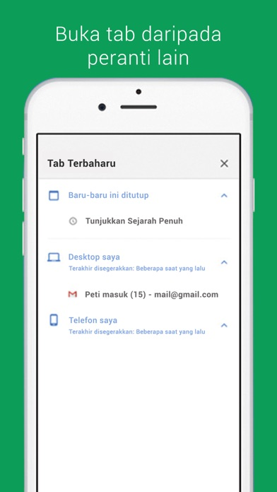 Screenshot for Google Chrome in Malaysia App Store