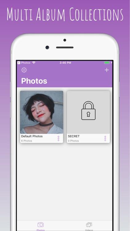 Photo Vault Box - Lock Photo