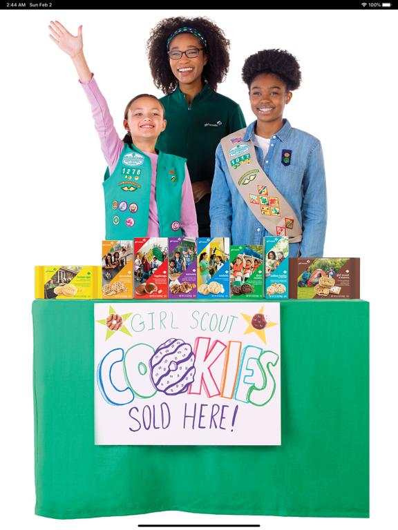 Girl Scout Cookie Locator screenshot 10