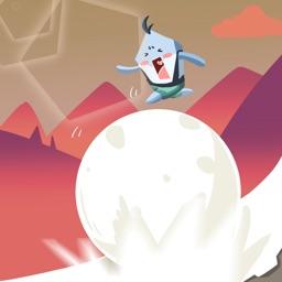 滑雪大冒险-奔跑吧雪球