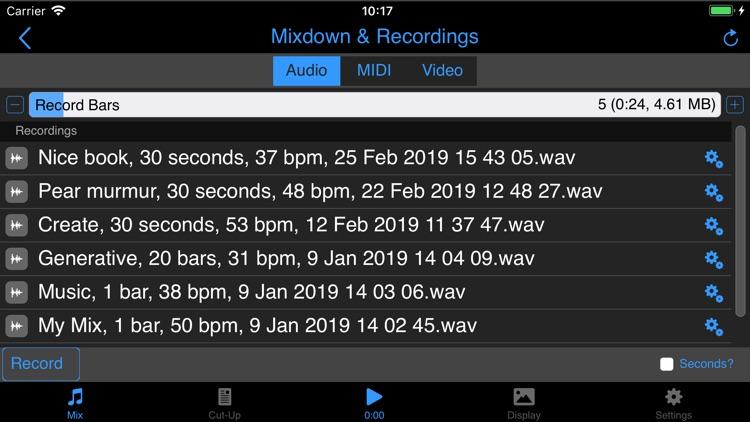Wotja Pro 19: Generative Music screenshot-5