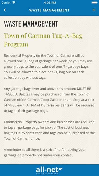 Carman-Dufferin screenshot-5