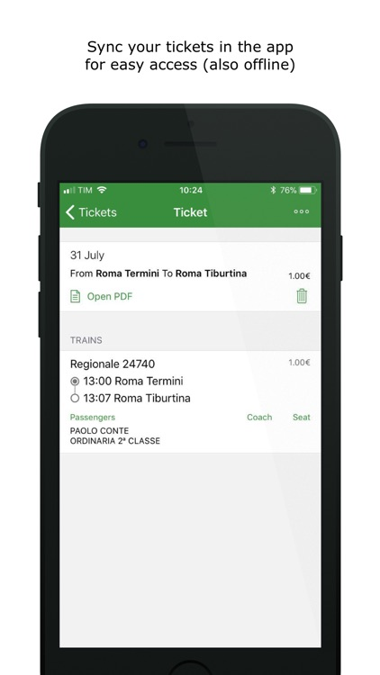 Train Timetables in Italy screenshot-4