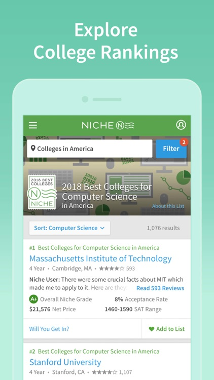 Niche: Colleges, K-12 & Places screenshot-4