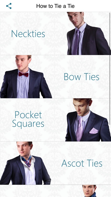 How to Tie a Tie Fashion Look screenshot-4
