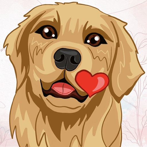RadarMojis - Golden Retriever
