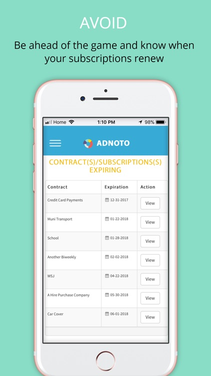 Adnoto Expense Manager screenshot-3