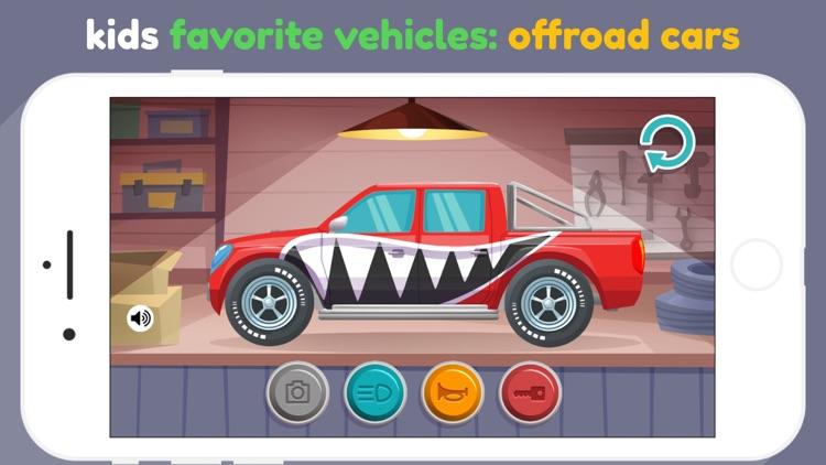 Car Maker for kids & toddlers screenshot-6