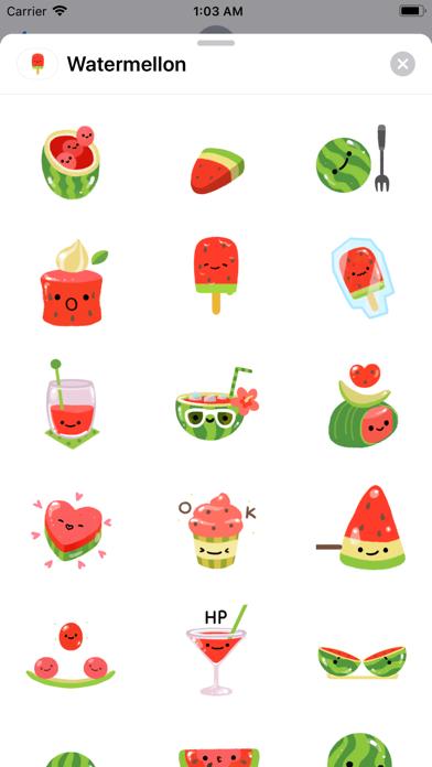 Summer Watermelon - Animated screenshot 1
