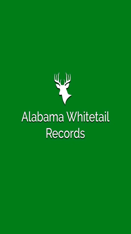 Alabama Whitetail Records