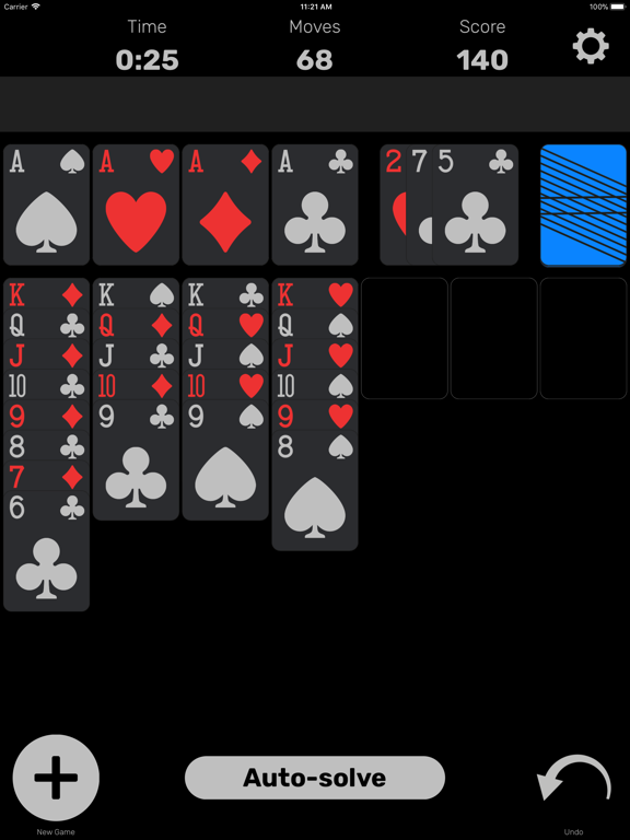 iPad Image of Solitaire (Classic Card Game)