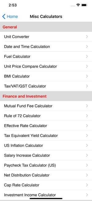 financial calculator free download for iphone