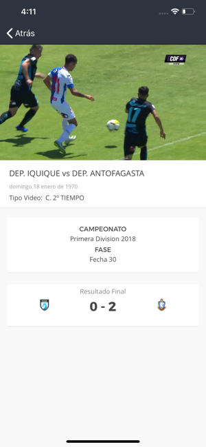 ‎Estadio CDF Screenshot