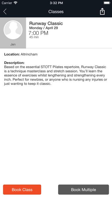 Runway Pilates screenshot four