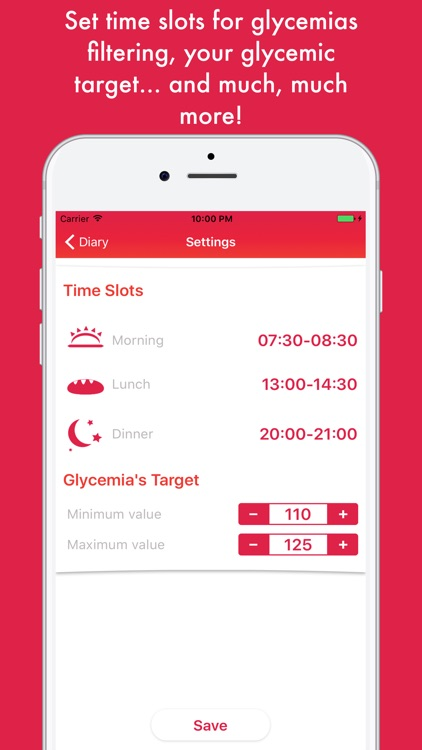 Glycemic Diary: Manage Diabete screenshot-4
