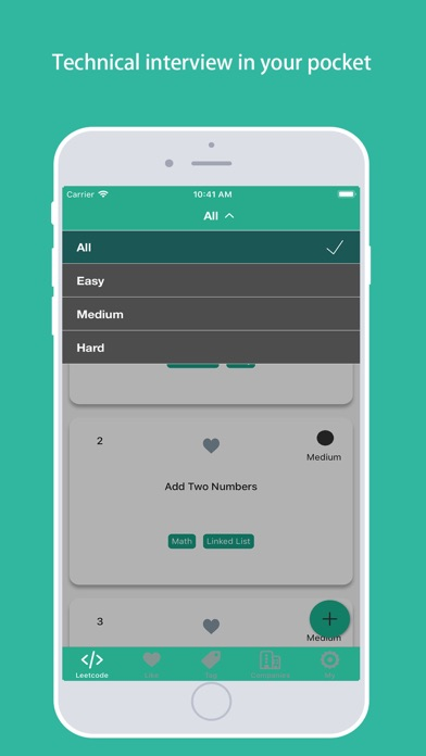 Leetcodes for tech interview by Lei Dai (iOS, United States