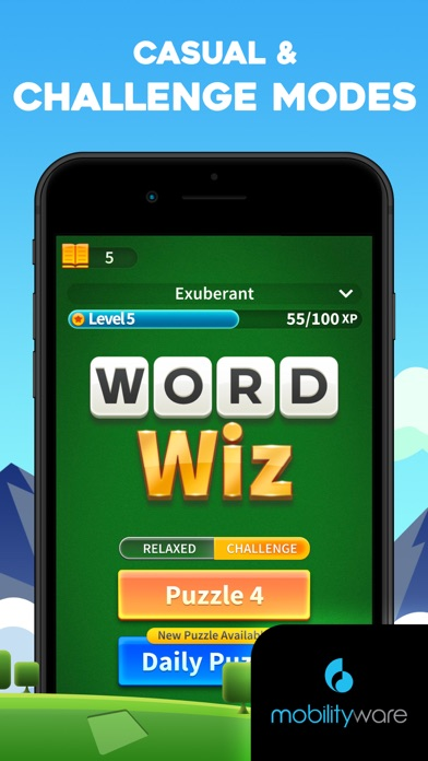 Word Wiz - Connect Wo... screenshot1