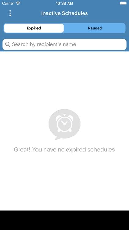 Pro SMS Scheduler screenshot-6