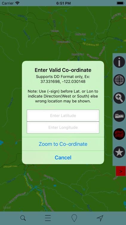 Yellowstone National Park GPS screenshot-3