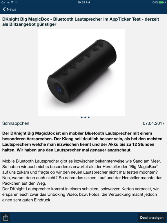 Screenshot #5 pour AppTicker News
