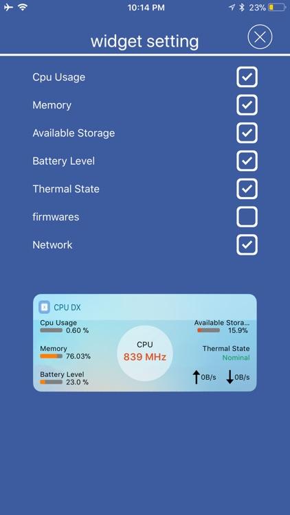 CPU Dasher - CPU DasherX screenshot-5