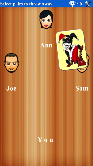 Old Maid Game screenshot two