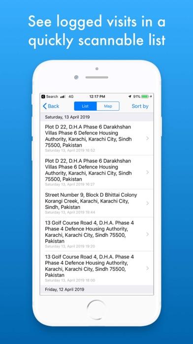 MZVisits - Travelling tracker screenshot 3