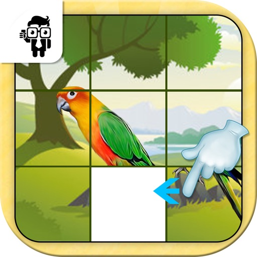 Bird Slide Puzzle Game