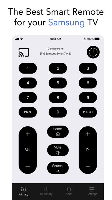 Smart TV Remote for Samsung.のおすすめ画像1
