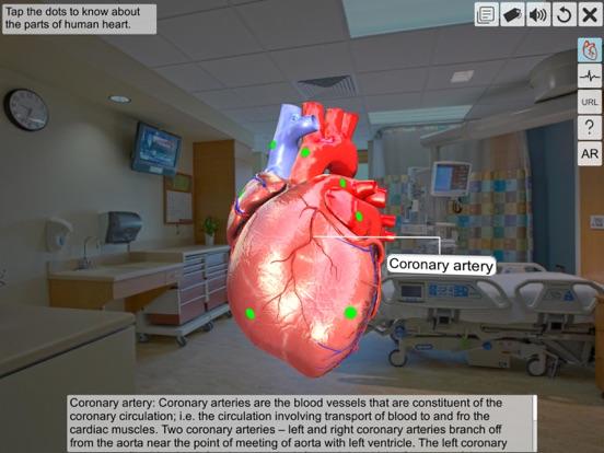 AR Human heart – A glimpse screenshot 7