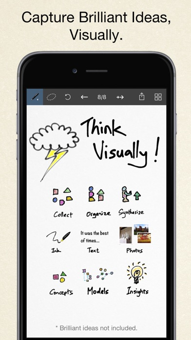 Inkflow Plus Visual Notebook for Windows