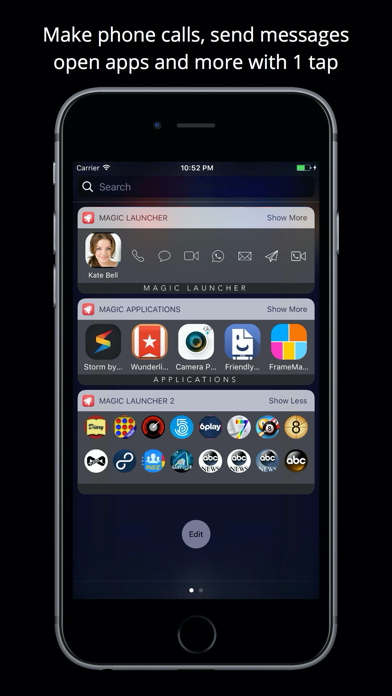 Magic Launcher Pro Widgets Screenshots