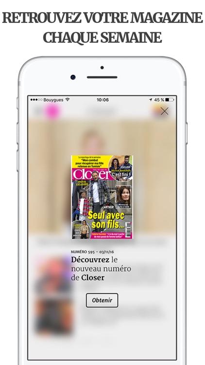 Closer – Actu et exclus People screenshot-4