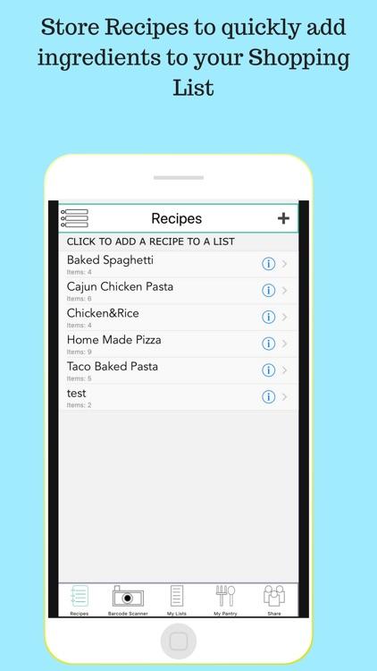ShoppingLists - List Maker screenshot-4