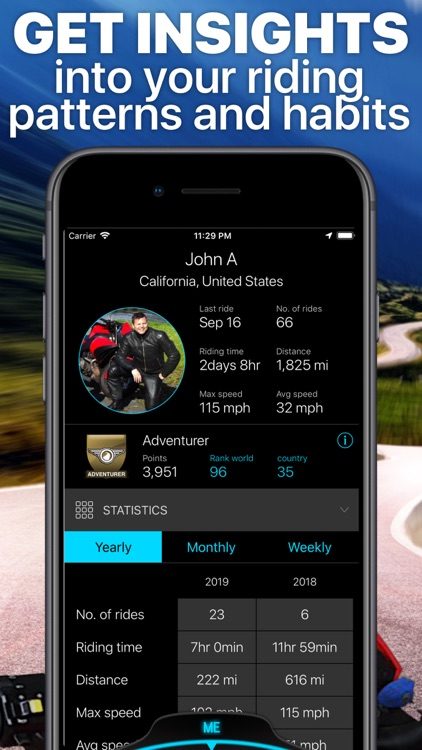 Scenic Motorcycle Navigation screenshot-9