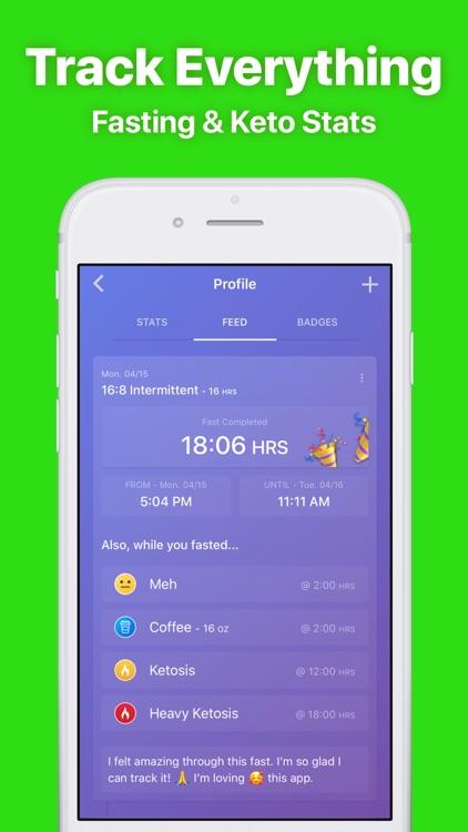 Fasten - Fasting Tracker App screenshot-4