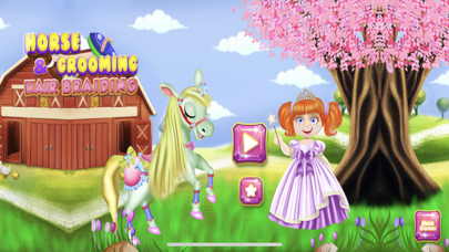 Cute Horse Unicorn : Hair Care screenshot 1