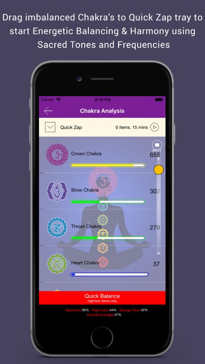 Quantum Chakra Scan screenshot-3